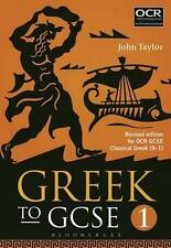 NEW Greek to GCSE: Part 1 By John Taylor Paperback Free Shipping