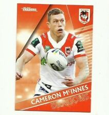 2018 NRL Traders ST GEORGE DRAGONS CAMERON McINNES 126 COMMON CARD FREE POST