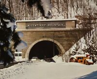 1950-60s Pennsylvania Turnpike Postcards Kittatinny Mountain Tunnel Unposted