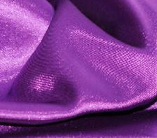 "Satin Charmeuse Solid BARNEY 60"" wide / Sold by the Yard"