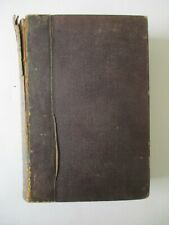 French Dictionary Language Leatherbound Translation Vocabulary Antique 1870