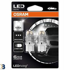 OSRAM LED W21/5W 580 6000K 12V LED Cool White Außenbirnen 7915CW-02B Double