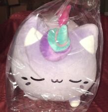 Brand New Jumbo Unicorn Meowchi - Sleepy Purple 16in Plush NWT