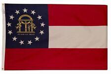 3x5 Nylon Georgia State Flag 3X5 Georgia State Banner 3X5 Ga State Flag Us Made