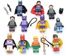 Lego DC Heroes Batman Movie Mini Figures lot Cat Woman Robin Aquaman