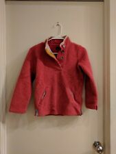 Girls Little Joules Fleece Pullover, Size 9-10 years