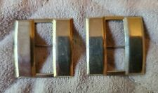 US WWII Captain's Bars, Set of 2 Pin-Backs, Mint, Full Size
