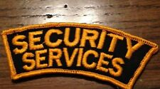SECURITY  SERVICES PATCH