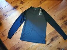 NWT Men's Under Armour Athletic Gym Rugby Infrared Long Sleeve Green Polo Top Sm