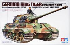 Tamiya 35164 German King Tiger Production Turret 1/35 Scale Kit