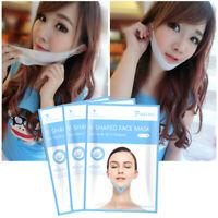 3D V-Shape Thin Face Mask Slimming Lifting Firming Fats Burn Double Chin V-line
