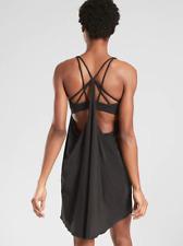 ATHLETA Solace Support Dress XS Black LIGHTWEIGHT Summer Travel