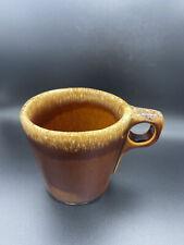 Hull Brown Drip Coffee Mug Cup Ovenproof Vintage Made In USA