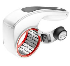 Zyliss E900011 Acid Etched Rotary Fine and Coarse Drum Grater White