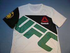 Reebok UFC Jose Aldo Brazil MEDIUM Slim Fit BRAND NEW Jersey Shirt MMA NWT