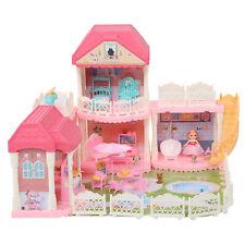 DIY Puppenhaus Puppenvilla Spielhaus Dollhouse PuppenHäuser Kinderpuppenhaus DE