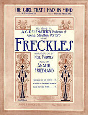 THE GIRL THAT I HAD IN MIND Music Sheet-1912-FRIEDLAND-FRECKLES
