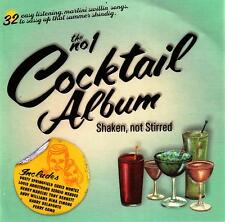 THE NUMBER 1 COCKTAIL ALBUM / VARIOUS ARTISTS - 2 CD SET
