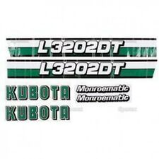 New Kubota L3202DT Decal Set