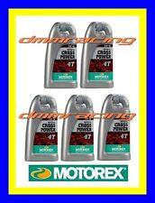 5 Litri Olio Motore 4 tempi MOTOREX Cross Power 4T 10W/50 100% Sintetico KTM 5LT