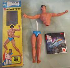 Big Jim Avventura 2684 Mattel scatola elastico spezzato catalogo 1983