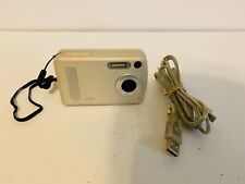 Polaroid a520 5.0MP Digital Camera Silver with cable and protector