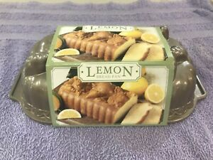 Nordic Ware Lemon Bread Pan NEW Excellent Condition