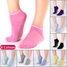 8 Pairs Yoga Socks Non Slip Pilates Massage Sport Ankle Socks Grip Exercise Gym