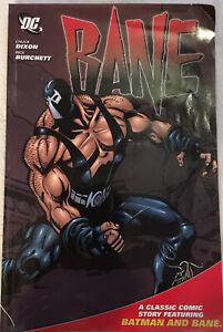 DC BANE  Chuck Dixon / Rick Butchery-Graphic Novel Classic Comic Batman/ Bane