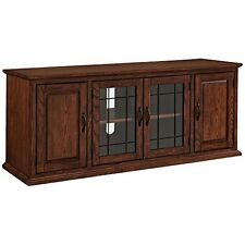 Leick Furniture 80360 Leaded Glass 60In Tv Stand NEW