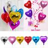 5 Stk Bunte Liebe Herz Folie Helium Ballons Hochzeit Party-Geburtstagsfeier M5C6