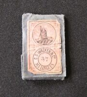 Ancien étui Aiguille WACKER & Co 3/7 mercerie Needle sharp Sewing Nadeln