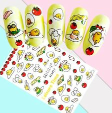 Nail Art Stickers Transfers 3D Self Adhesive Easter Chicks Eggs (XF3027)