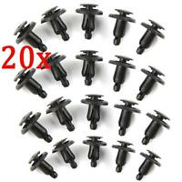 10x for HONDA CIVIC ACCORD LEGEND WHEEL ARCH SIDE PROTECTION BARS Clip Fastening