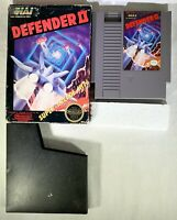 Defender II (Nintendo Entertainment System, 1988) Tested & Working Arcade FUN!