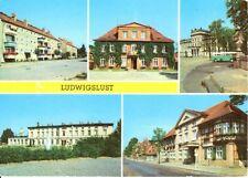 Ludwigslust - Rathaus, Schloß-Rat des Kreises, Bahnhof, HO-Hotel - 1981