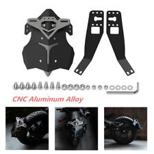 Universal Black CNC Motorcycle Rear Fender Wheel Cover Splash Guard Mudguard