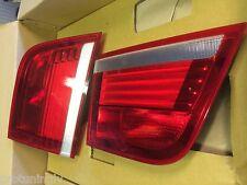 BMW E70 X5 07-10 OE INNER Tail Rear Lights SET Taillights Genuine OEM back xm M