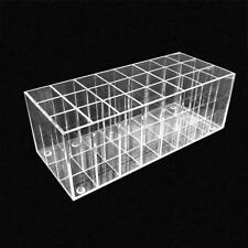 24 Grids Acrylic Cosmetic Lipstick Storage Display Stand Rack Holder Organizer