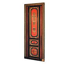 porte maçonnnique peinte Egyptomania début XXème