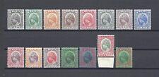 MALAYA/PERAK 1935-37 SG 88/102 MINT Cat £250