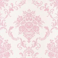 EUR 5,25/qm / Caselio Vliestapete Ashley 69344003 Ornament Barock Weiß Rosa