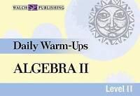 Daily Warm-Ups For Algebra II (Daily Warm-Ups Math Series Ser)-ExLibrary