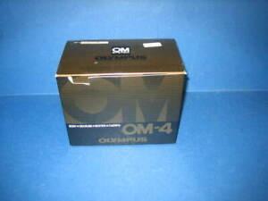 OLYMPUS OM-4 CAMERA WITH ORIGINAL BOX EXCELLENT CONDITION