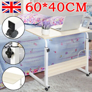 Laptop Computer Table Notebook Desk Adjustable Portable Trolley Sofa Bed Tray UK