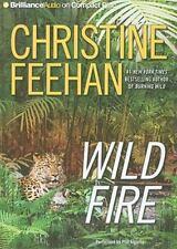 Leopard: Wild Fire, by Christine Feehan 6 CD Audio Book Abridged 6hrs *NEW*