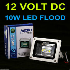 10W MICRO DC 12VOLT ( RED ) WATERPROOF LED FLOOD LIGHT SMD FOR SOLAR PLANT