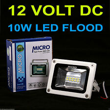 10W MICRO DC 12VOLT ( white) WATERPROOF LED FLOOD LIGHT SMD FOR SOLAR PLANT