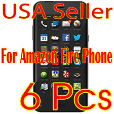 6x New Amazon Fire Phone HD Crystal Clear LCD Screen Protector