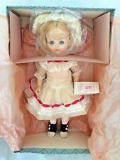 Madame Alexander Renoir Girl 1476 Doll New w Tag White Dress Hat Pink Flowers